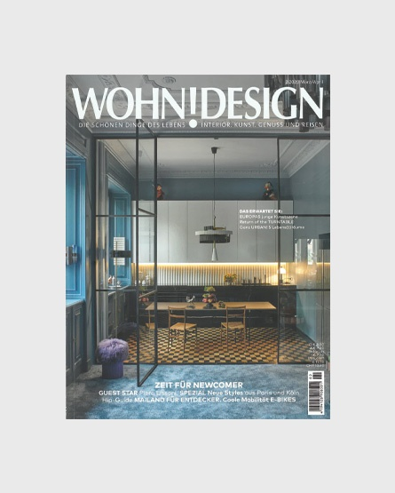 Wohn!design - Germany- with contributions by Piero Lissoni