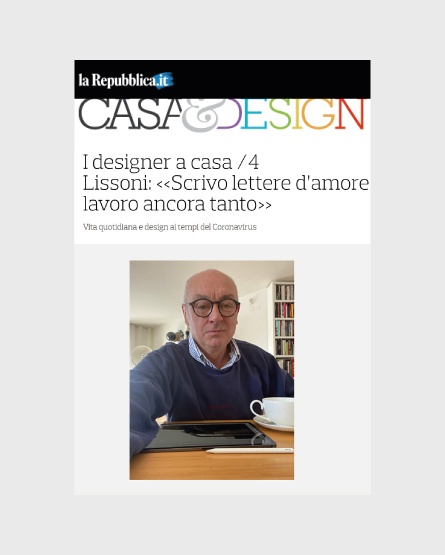 design.repubblica.it - Italy- Interview with Piero Lissoni