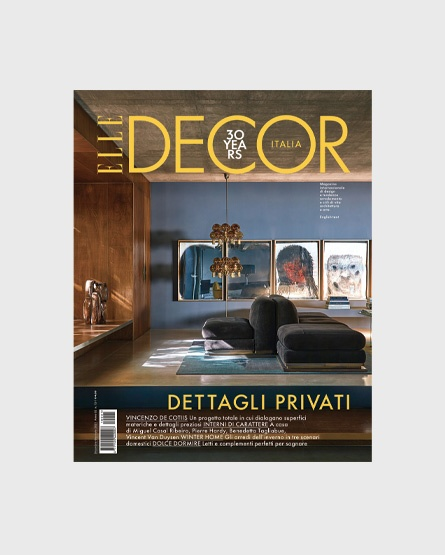 Elle Decor - Italy- Gaia and Miguel Casal Ribeiro's House