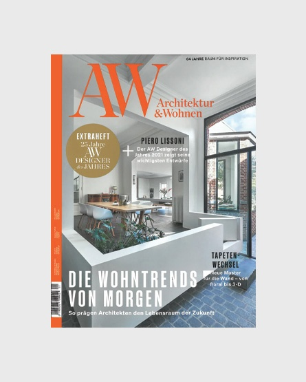Architektur & Wohnen - Germany- Interview with Piero Lissoni