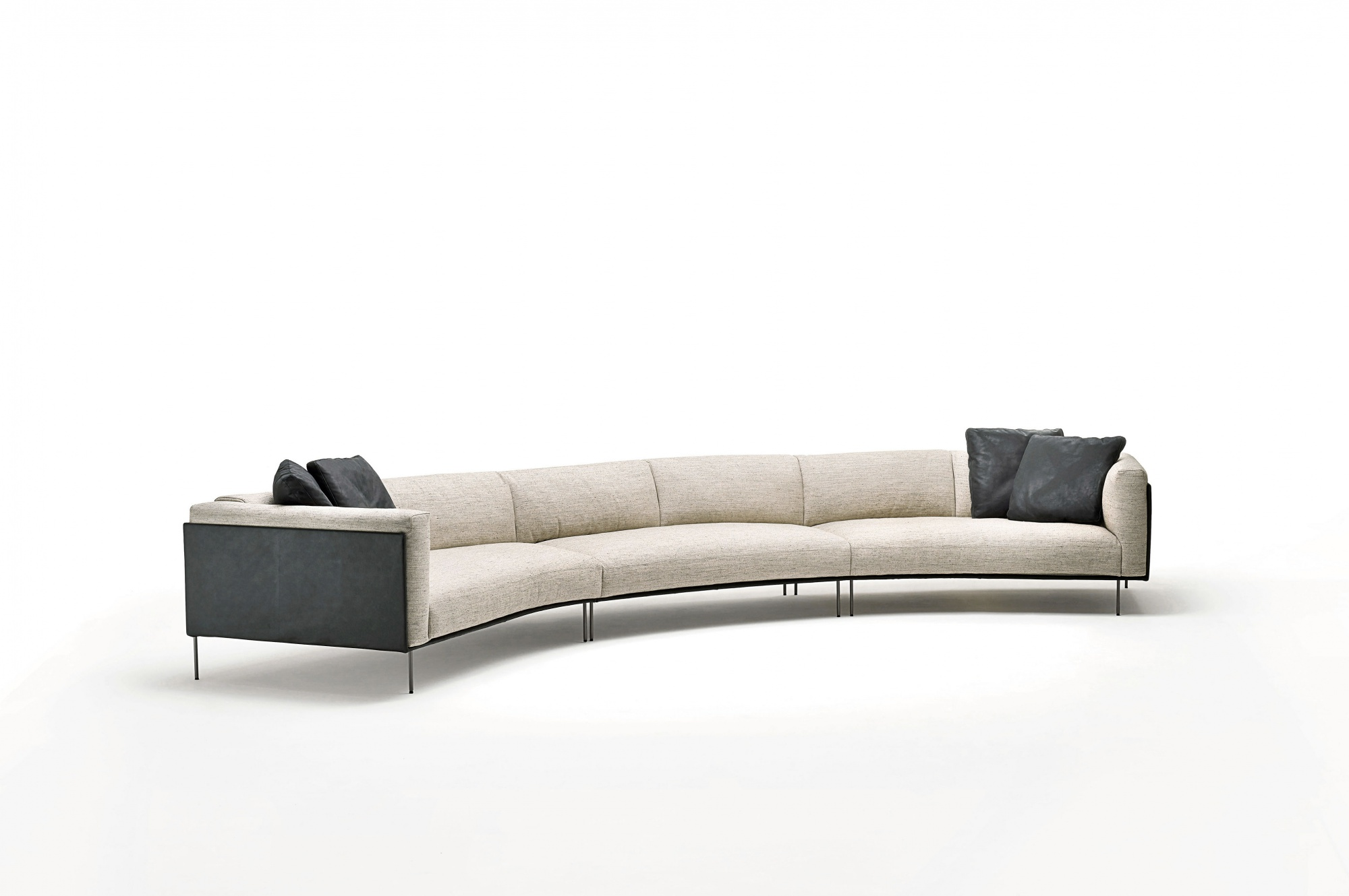 living divani sofa softwall sofa by living divani design