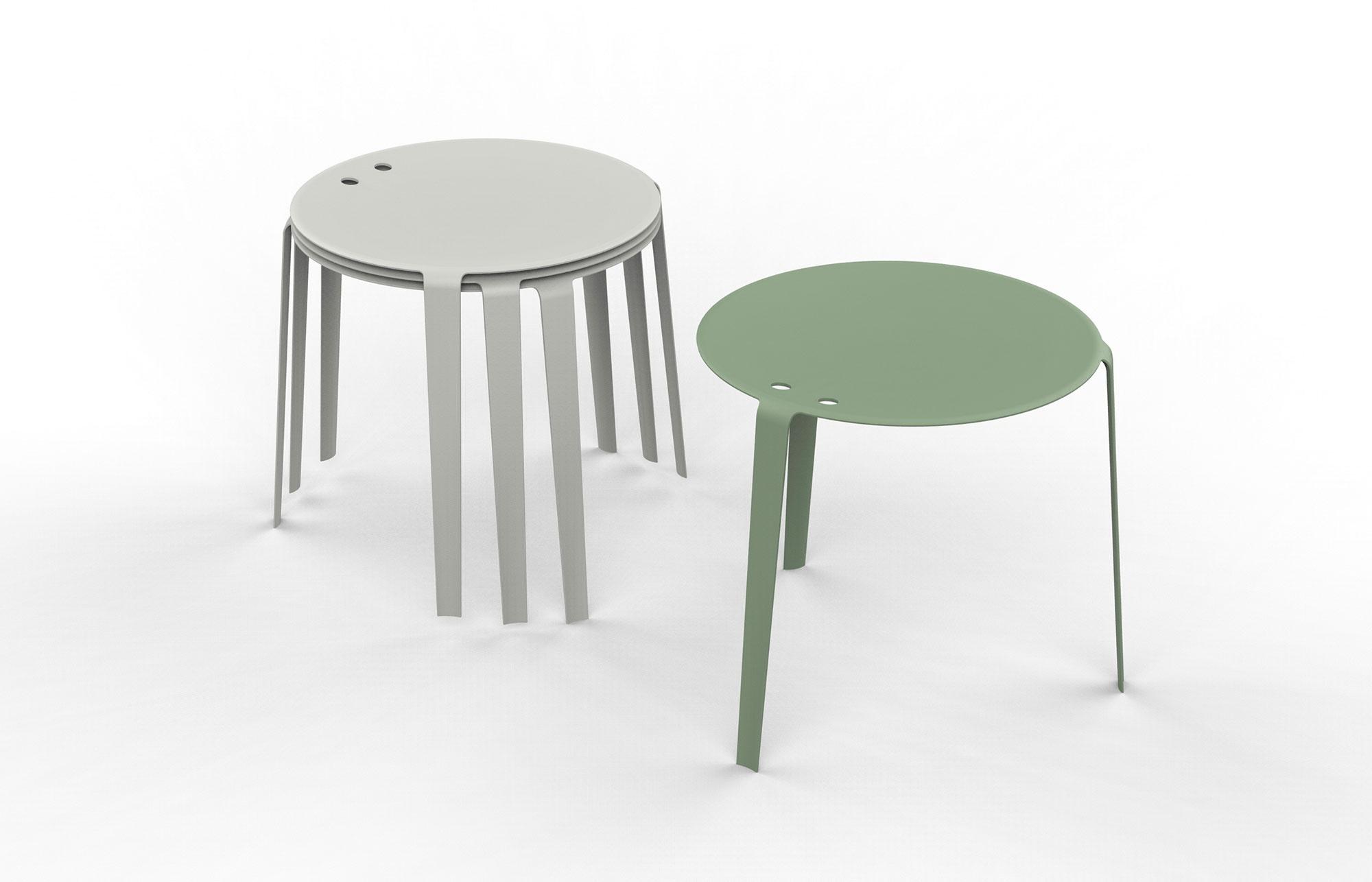 Lissoni Design Projects Kartell Piumino Stool