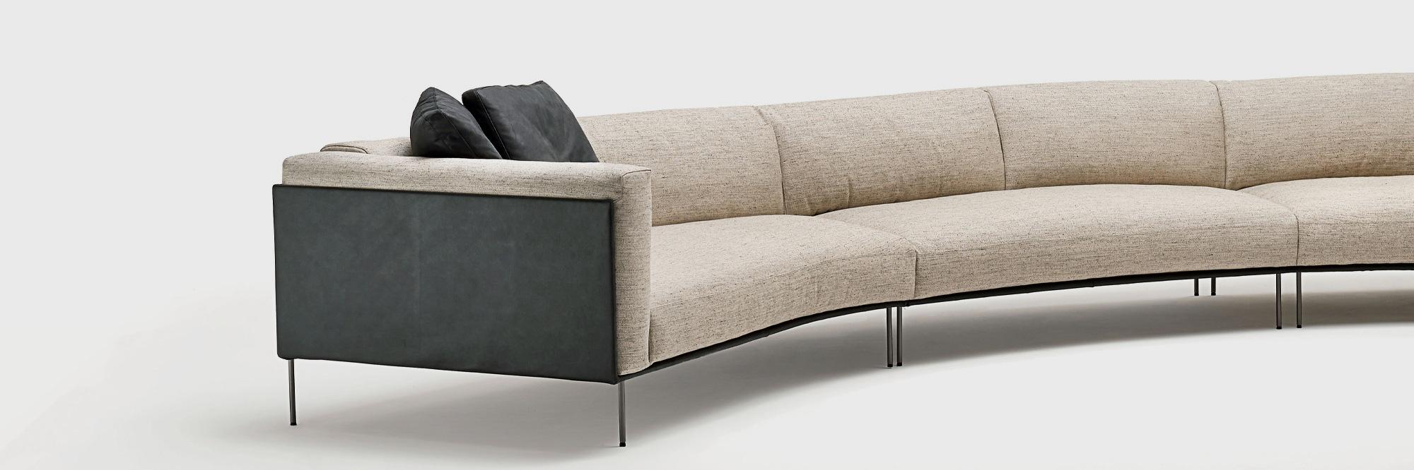Colombo Divani A Meda lissoni & partners   product   living divani   metro2   sofa